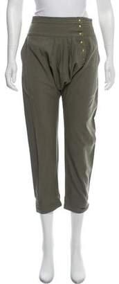 Ulla Johnson Mid-Rise Drop-Crotch Pants