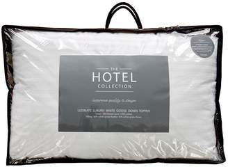 Hotel Collection Ultimate Luxury White Goose Down 7cm Mattress Topper