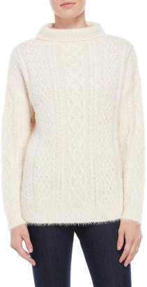 Juicy Couture Eyelash Cable Knit Sweater
