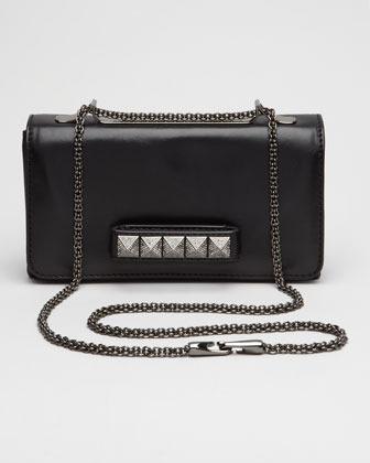 Valentino Noir VaVa Voom Flap Bag