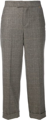 Twin-Set Prince of Wales check trousers