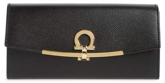 Salvatore Ferragamo Icona Calfskin Leather Wallet