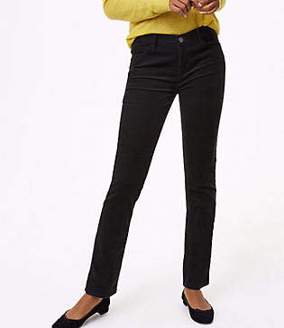LOFT Straight Leg Corduroy Pants in Curvy