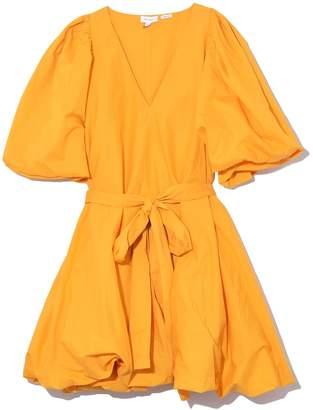 Rhode Resort Marni Dress in Bright Saffron