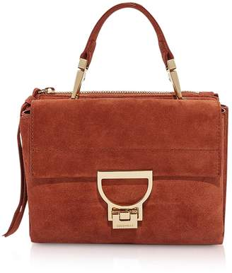 Coccinelle Arlettis Suede Mini Bag w/Shoulder Strap