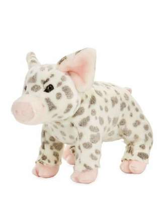 "Douglas Pauline Spotted Pig Plush Toy, 12"""