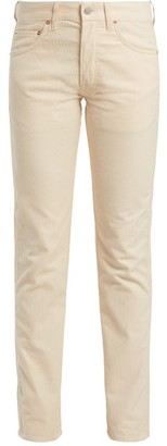 Holiday boileau Holiday Boileau - Slim Fit Cotton Corduroy Trousers - Womens - Cream