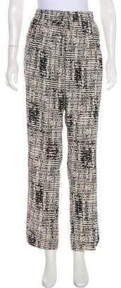 Calvin Klein Printed High-Rise Pants w/ Tags