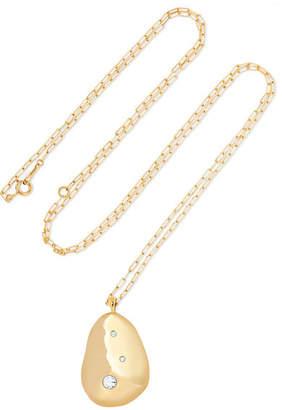 Cvc Stones X2 18-karat Gold Diamond Necklace - one size