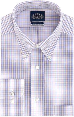 Eagle Men Classic-Fit Stretch Collar Dress Shirt