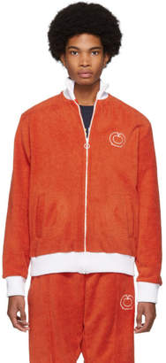 Casablanca Red and White After Sports Track Jacket