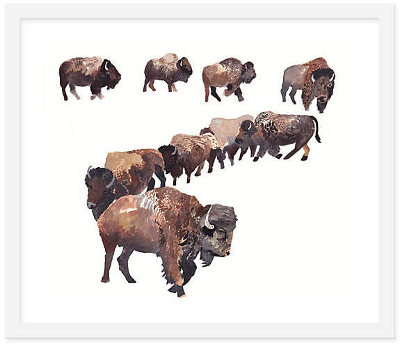 Bison Herd - Michelle Morin - 15
