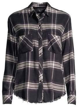 Rails Leo Rayon Plaid Shirt