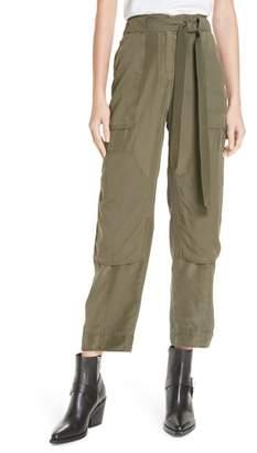Rag & Bone Henri Crop Silk Pants