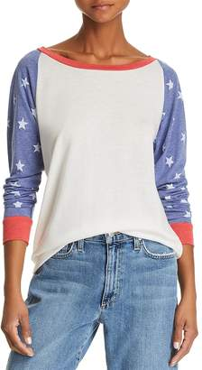 Alternative Star Color-Block Sweatshirt