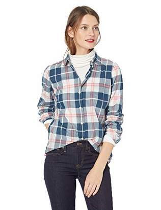 J.Crew Mercantile Women's Plaid Button Down Shirt