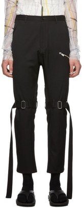 Sulvam Black Bandage Trousers
