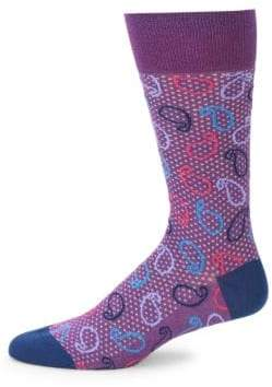 Bugatchi Printed Mid-Calf Socks