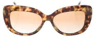 Cat Eye Robert Marc Tortoiseshell Cat-Eye Sunglasses