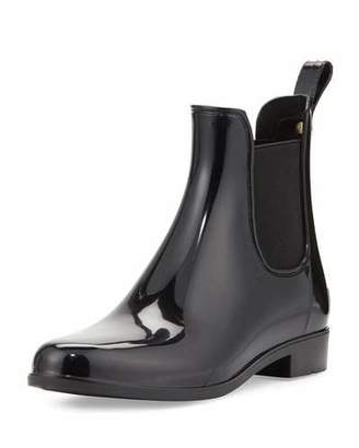 Sam Edelman Tinsley Chelsea Rain Boot, Black $55 thestylecure.com