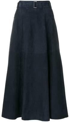 Max Mara 'S panelled maxi skirt