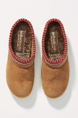 Laidback London Kemp Suede Slippers