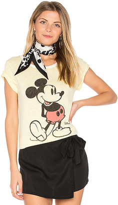 Junk Food Mickey Mouse Tee in Yellow $52 thestylecure.com