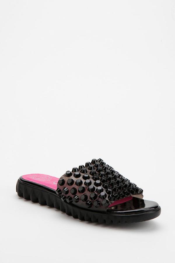 Jeffrey Campbell Kaja Studded Slide Sandal