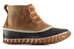 Sorel Kid's Out N About Lace Leather Boots