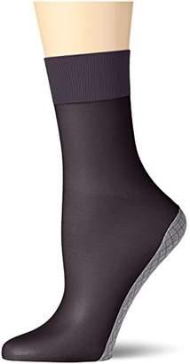 Elbeo Women's 902630 Socks, 20 DEN, Black (Schwarz 3800), Size 6-8