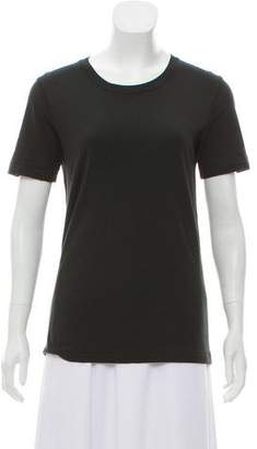 BLK DNM Short Sleeve Scoop Neck Top