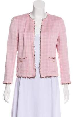 Chanel Silk Structured Jacket