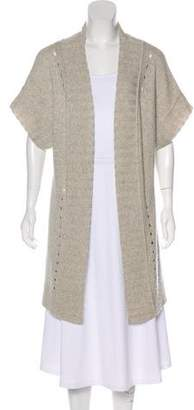 James Perse Short Sleeve Knit Cardigan