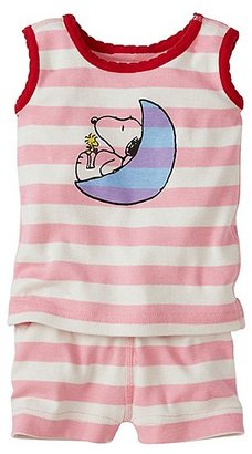 Peanuts Tank John Pajamas In Organic Cotton $40 thestylecure.com