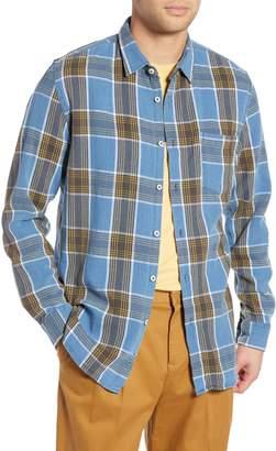Barney Cools Plaid Flannel Shirt