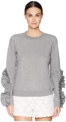RED Valentino Sweatshirt Women's Clothing