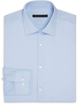 John Varvatos LUXE Micro Stripe Slim Fit Stretch Dress Shirt