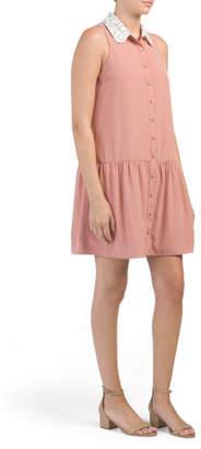 Made In Usa Wool Blend Estelle Dress