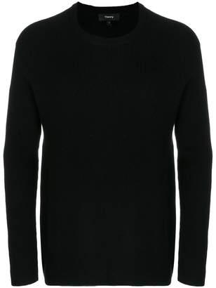 Theory ribbed raglan sweater