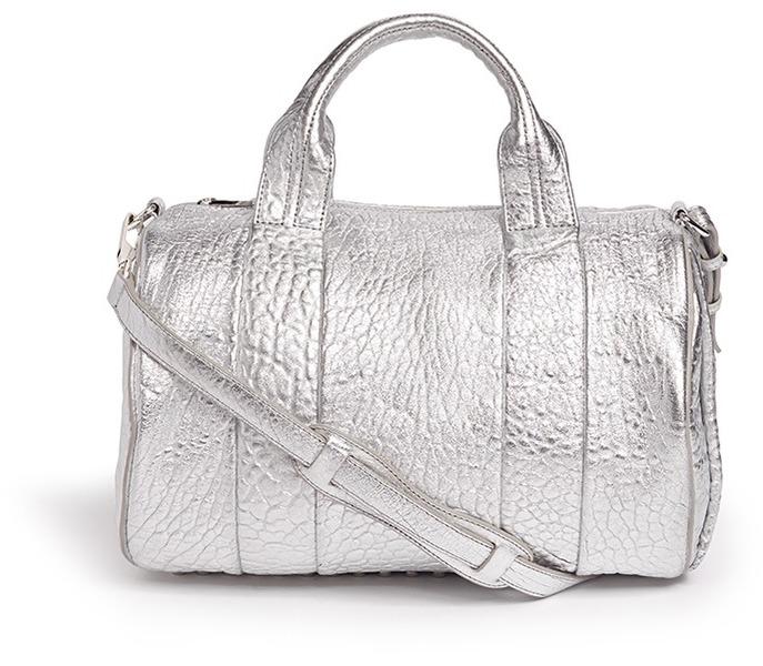 Rocco stud bag leather duffle bag