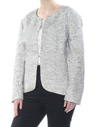 Anne Klein Women's Size Plus Etched Tweed Jacket