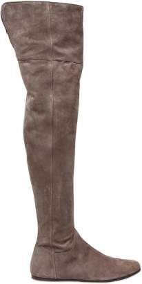Etro 10mm Suede Over The Knee Boots
