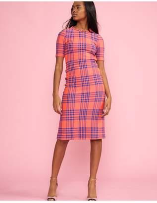 f561818228 at Orchard Mile · Cynthia Rowley Harper Stretch Plaid Dress