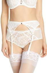 11290b201af Chantelle Lingerie Intimates Segur Lace Garter Belt