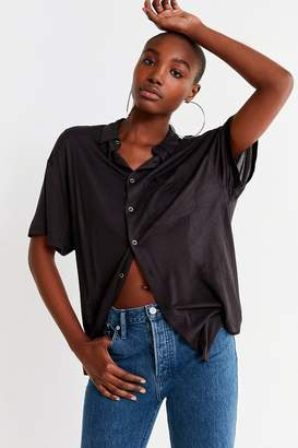 Urban Outfitters Noah Longline Oversized Button-Down Shirt