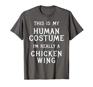 I'm Really a Chicken Wing Halloween Shirt Easy Costume