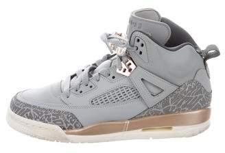 Nike Jordan Girls' Spizike Leather Sneakers