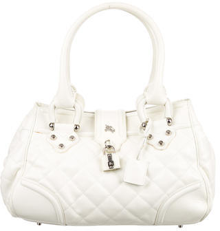 Burberry Burberry Quilted Leather Shoulder Bag