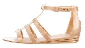 Marc Jacobs Rubber Cage Sandals w/ Tags
