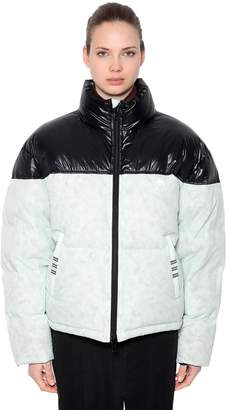 adidas By Alexander Wang CONTRASTING COLOR DOWN JACKET